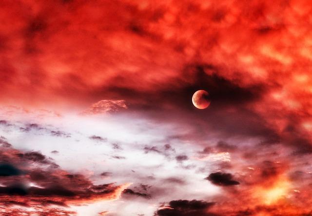 Blutmond, schaurig schönes Himmelsspektakel